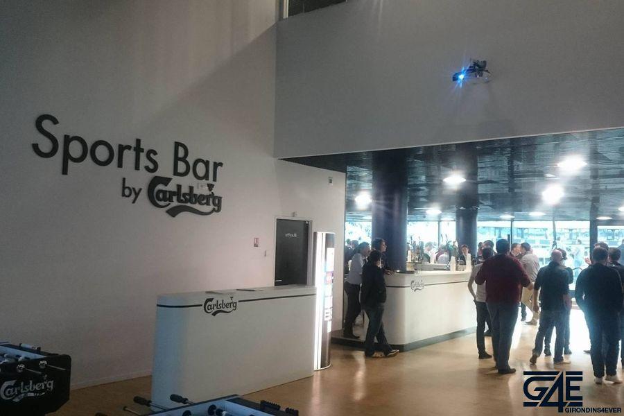 Sports bar Carlsberg