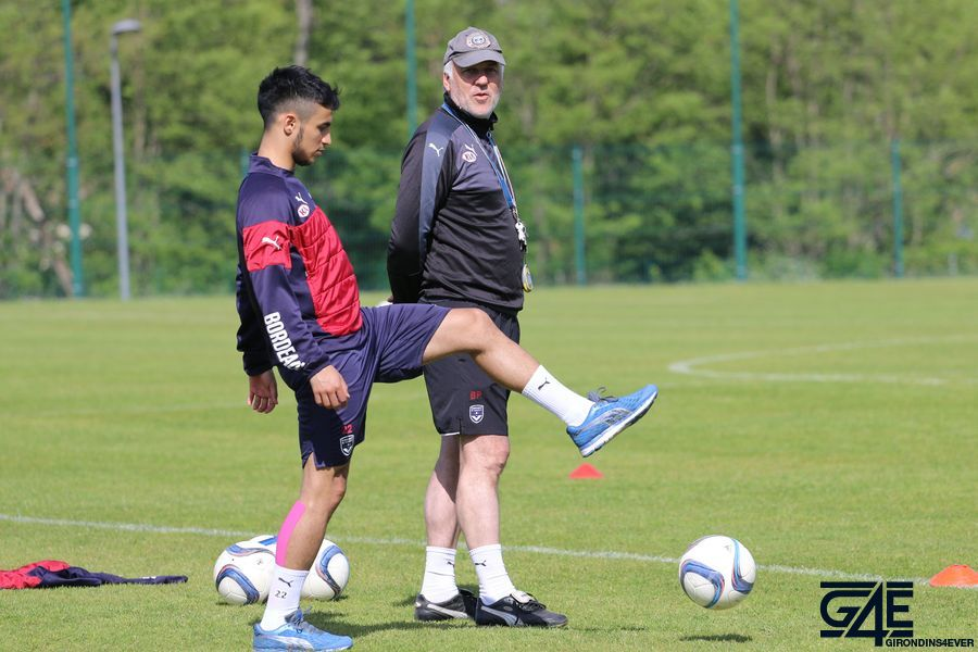 Patrick Battiston et Adam Ounas