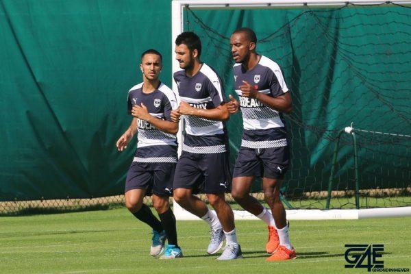 Adam Ounas, Gaetan Laborde et Nicolas Maurice-Belay
