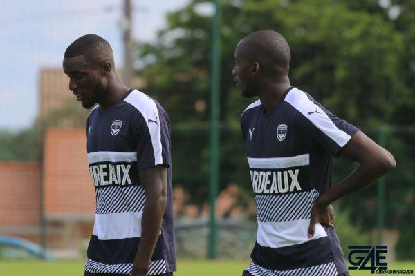 Lamine Sané et Cédric Yambéré