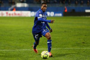 Francois KAMANO - 03.12.2014 - Bastia / Evian Thonon - 16eme journee de Ligue 1  Photo : Michel Maestracci / Icon Sport