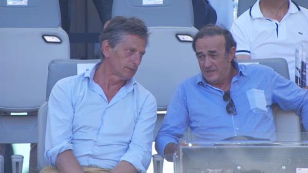Jean-Louis Triaud et Nicolas de Tavernost