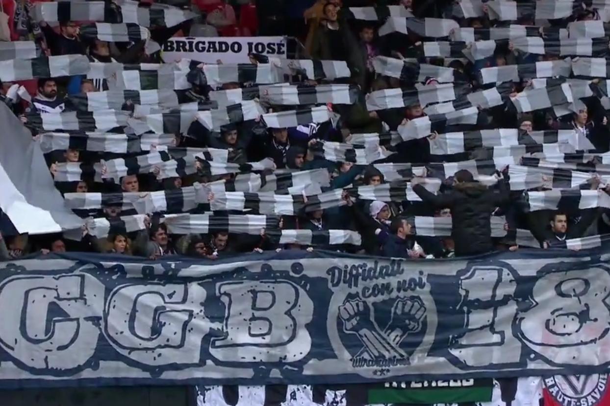 Supporters, Ultras, Bordeaux, Guingamp