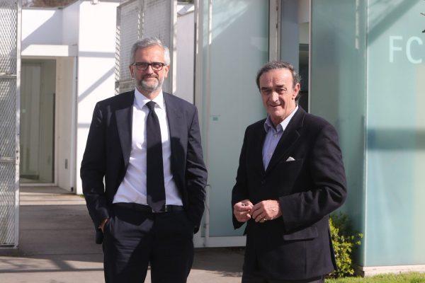Stéphane Martin et Jean-Louis Triaud