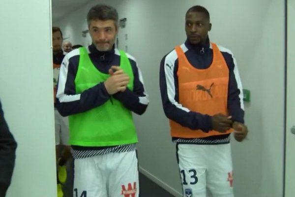 Jérémy Toulalan et Younousse Sankharé