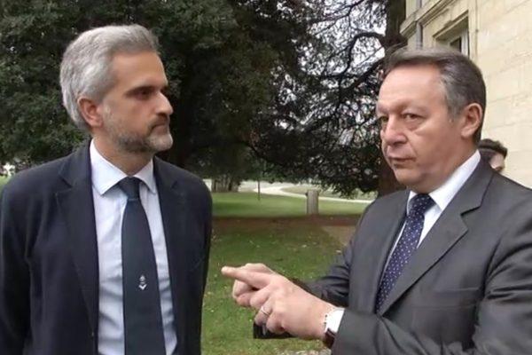 Stéphane Martin et Thierry Thierry Braillard