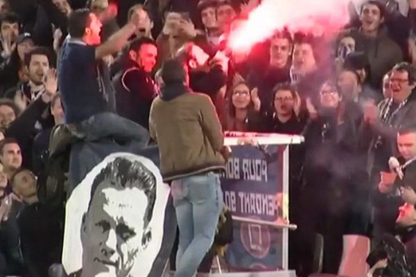 Jean-Louis Triaud supporters, virage sud ultramarines