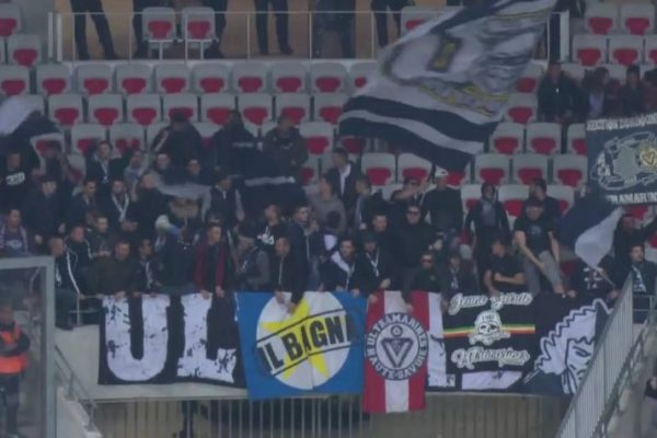 Ultras, supporters, girondins