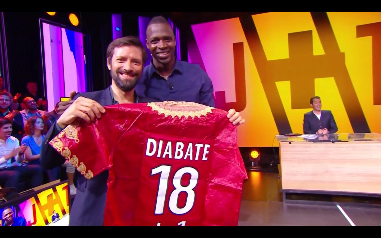 Julien Cazarre et Cheick Diabaté