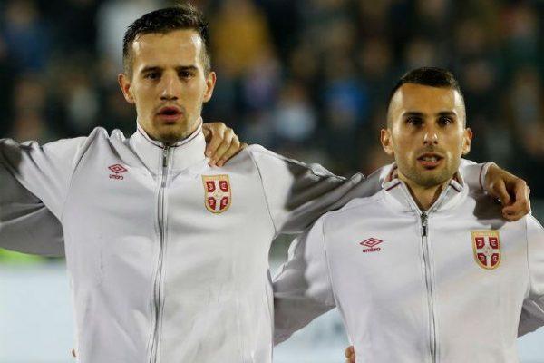 Milan Gajic et Vukasin Jovanovic