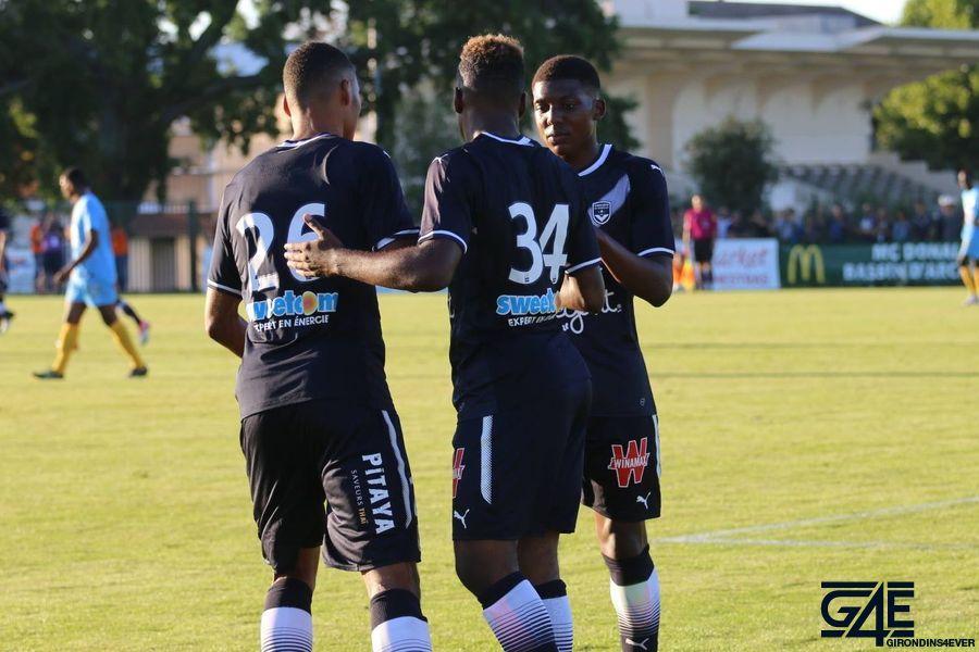 Olivier Verdon, Aaron Boupendza et Zaydou Youssouf