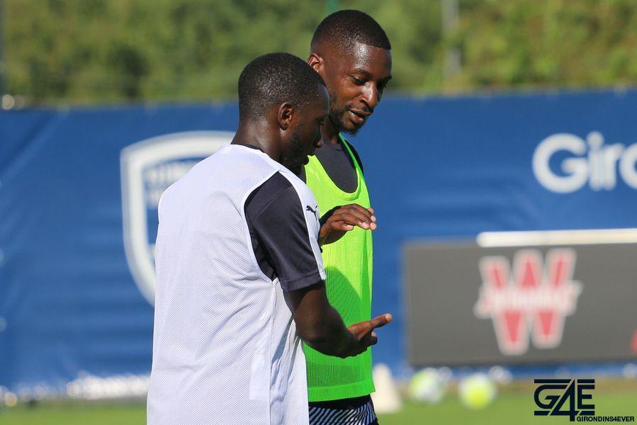 Younousse Sankharé et Youssouf Sabaly