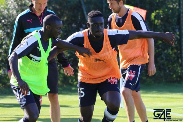 Youssouf Sabaly et Alexandre Mendy