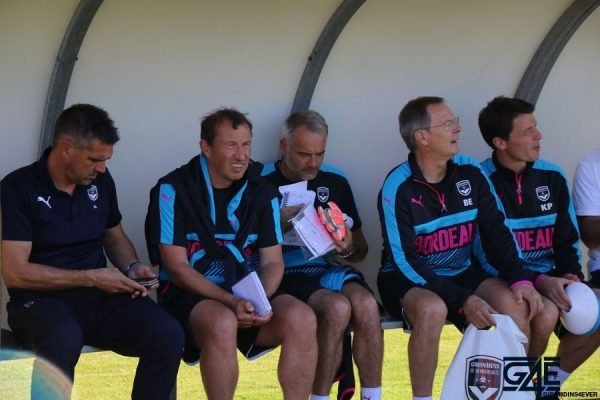 Staff Jocelyn Gourvennec, Eric Blahic, Franck Chaumin, Eric Bédouet, Kévin Plantet