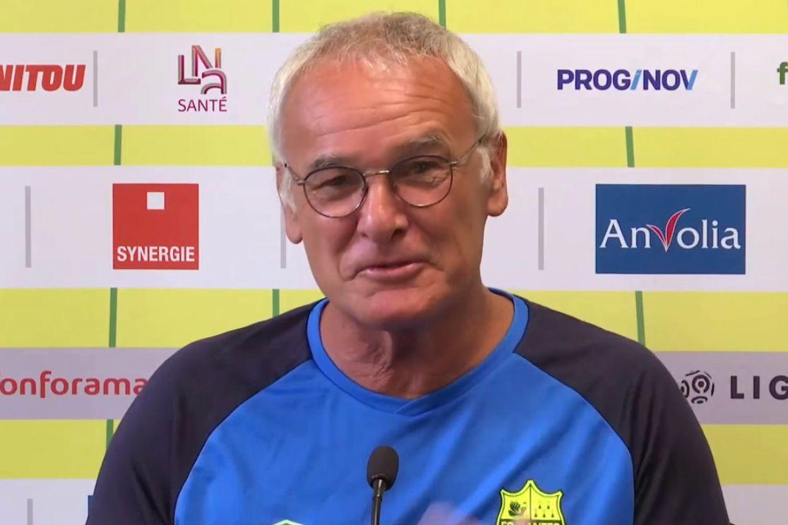 Nantes : Les félicitations de Mister Ranieri