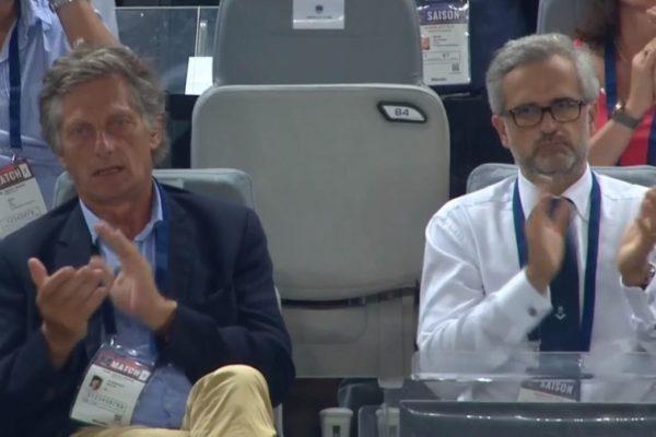 Nicolas de Tavernost et Stéphane Martin