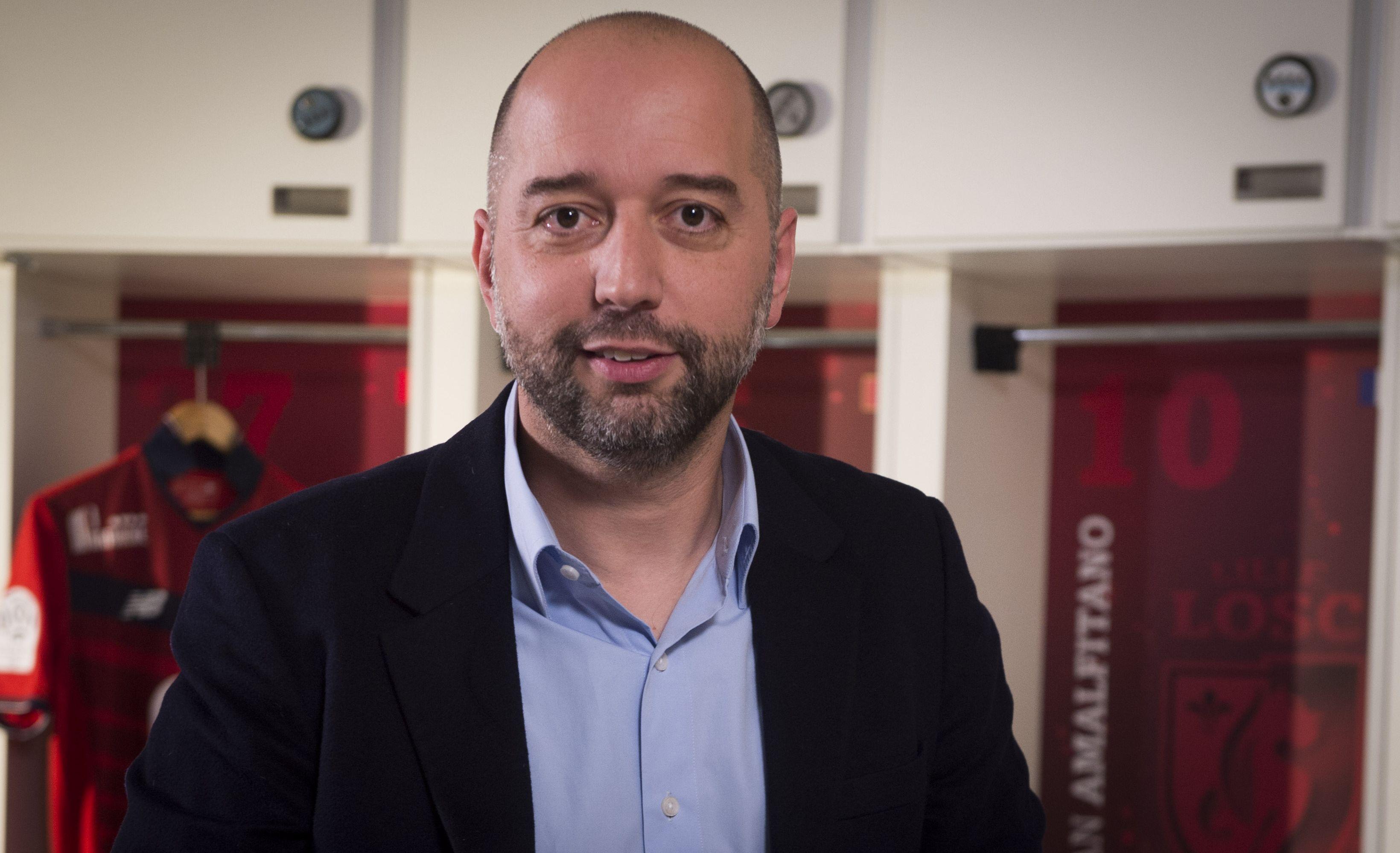 Gerard Lopez – nouveau president du LOSC