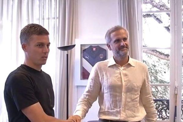 Nicolas de Préville et Stéphane Martin