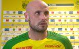 Nicolas Pallois exclu du groupe professionnel du FC Nantes