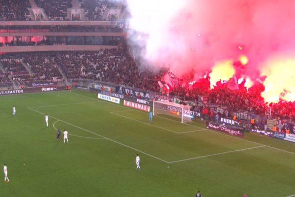 Ultras, fumigènes