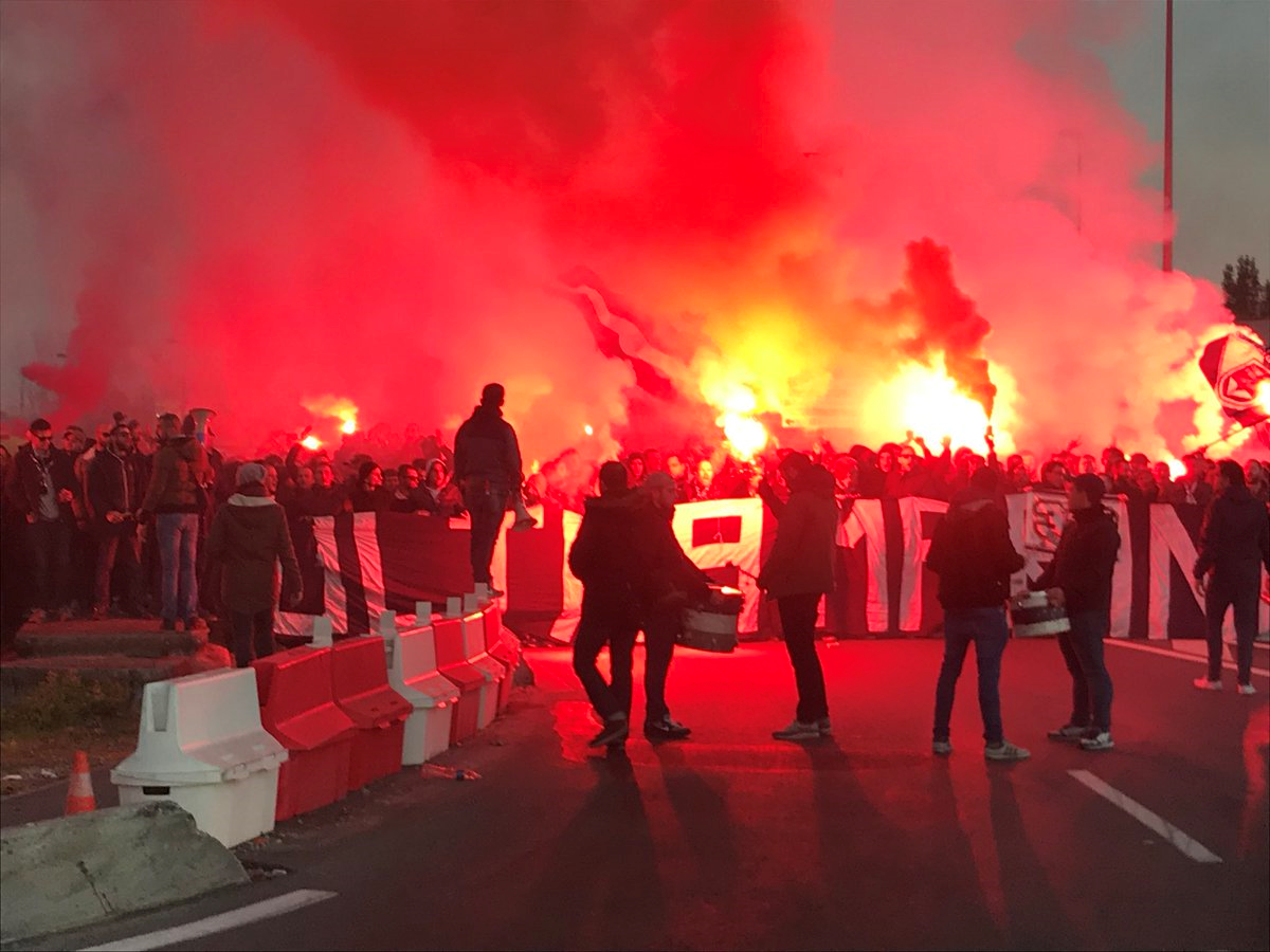 Les Ultramarines défient les autorités et iront à Marseille — Girondins de Bordeaux
