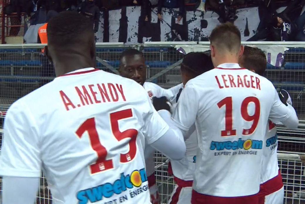 Alexandre Mendy, Lukas Lerager