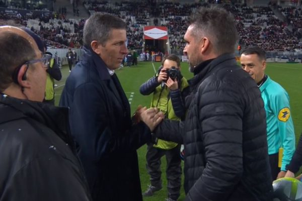 Thierry Launey et Jocelyn Gourvennec