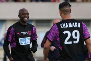 Alou Diarra et Marouane Chamakh
