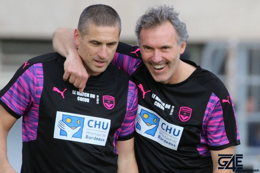 Nisa Saveljic et Laurent Blanc