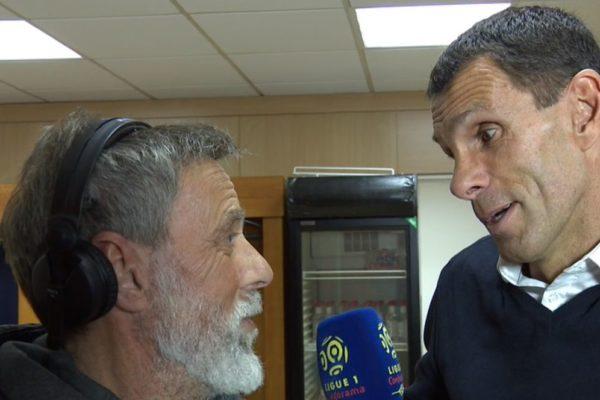 Gustavo Poyet et Paganelli