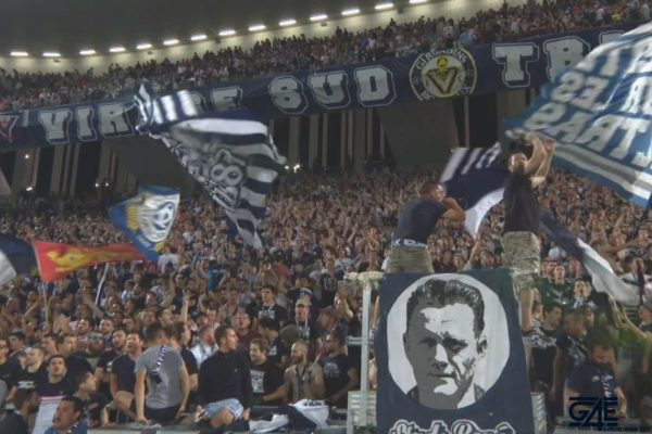 Ultramarines, supporters, virage Sud