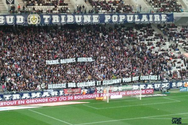 Virage sud supporters ultramarines