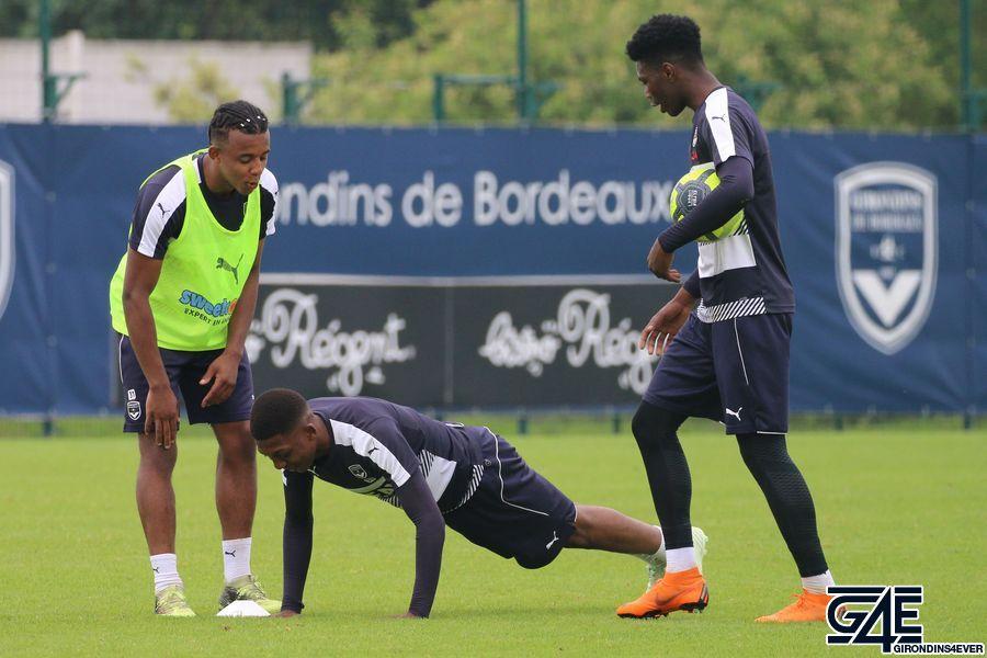 Zaydou Youssouf, Aurélien Tchouaméni, Jules Koundé