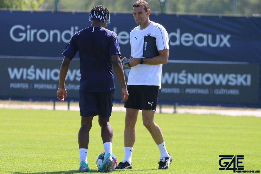 Jules Koundé et Gustavo Poyet