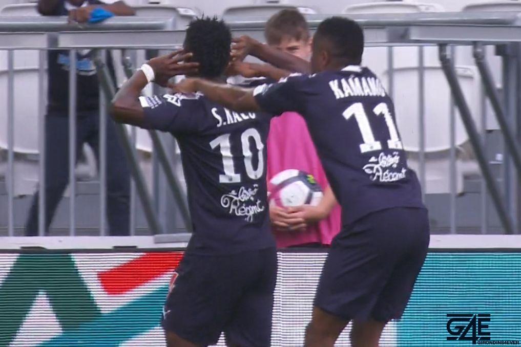 Samuel Kalu et François Kamano