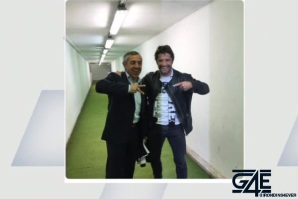 Alain Giresse et Bixente Lizarazu
