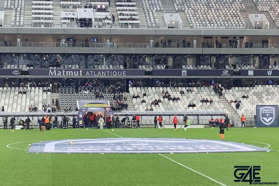 supporters virage sud ultramarines stade girondins