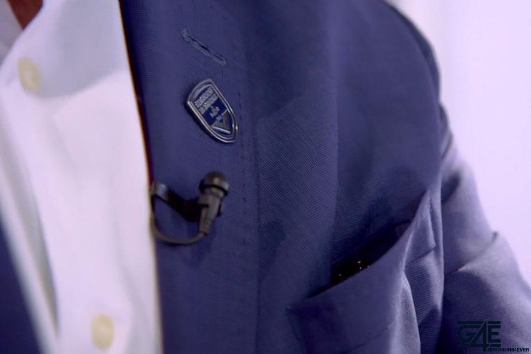 logo girondins pin's