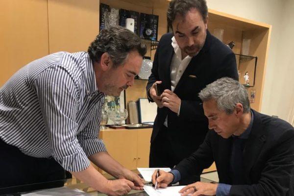 Paulo Sousa, Hugo Varela, Alain Deveseleer