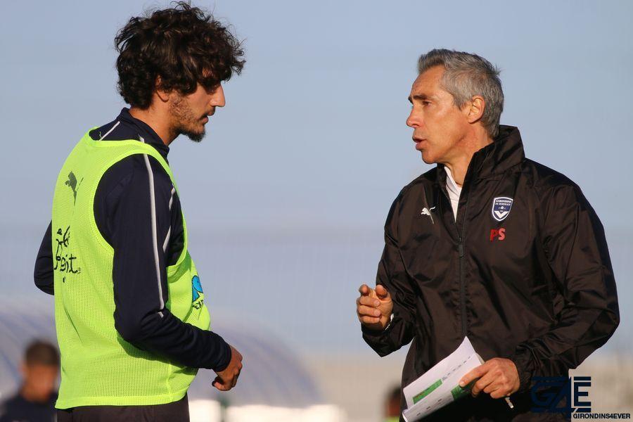 Yacine Adli et Paulo Sousa