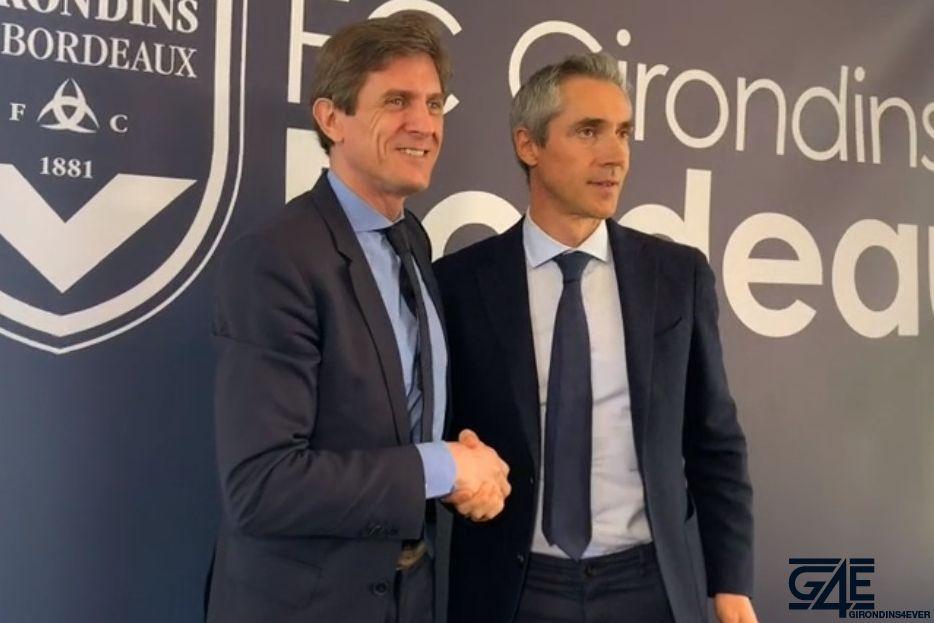 Paulo Sousa et Frédéric Longuépée