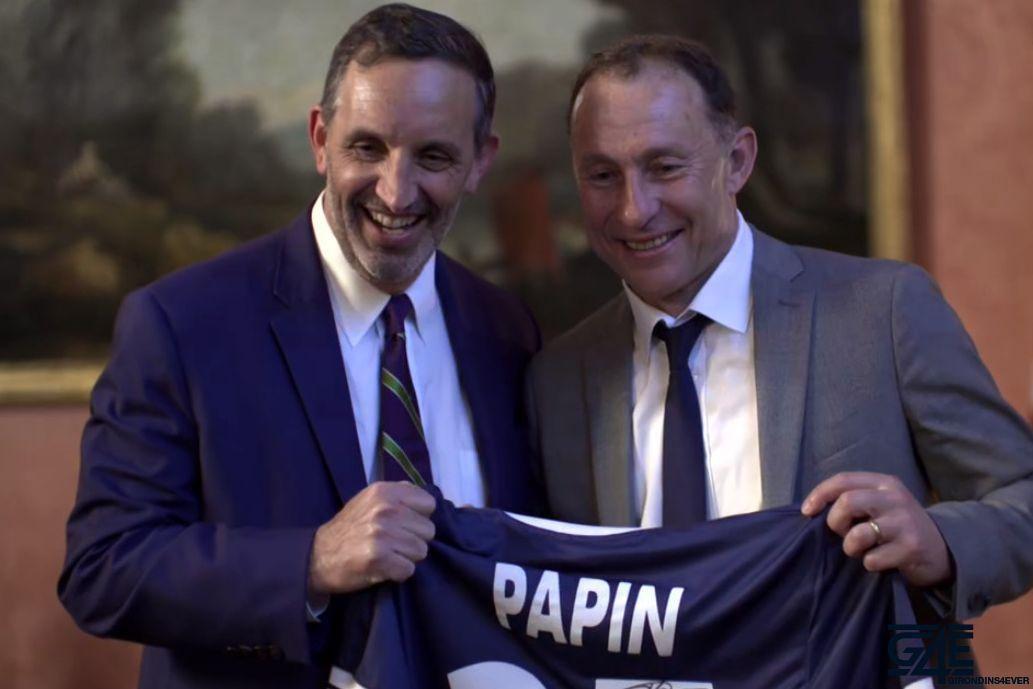 Joseph DaGrosa et Jean-Pierre Papin