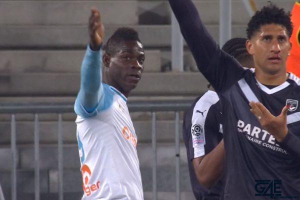 Lourde sanction pour Balotelli après Bordeaux — OM