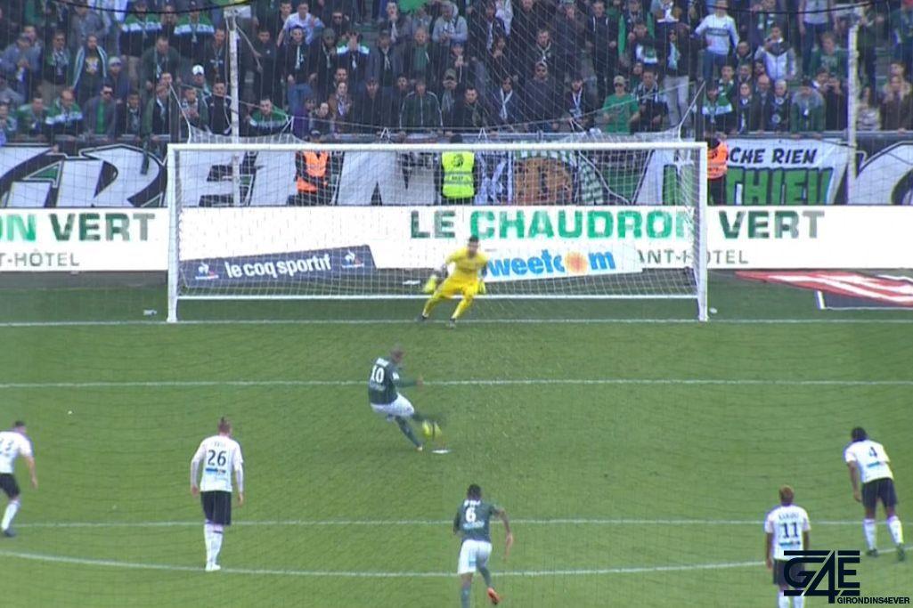 Wahbi Khazri, Benoit Costil, penalty