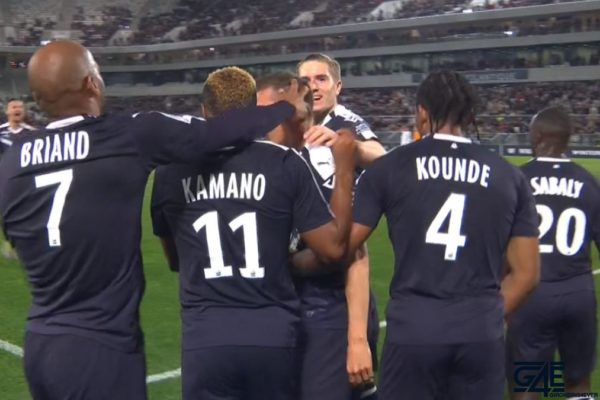 Jimmy Briand, François Kamano, Jules Koundé