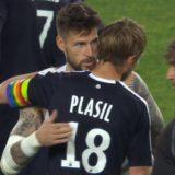 Jaroslav Plasil et Benoit Costil
