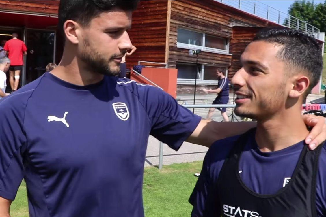 Loris Benito et Yassine benrahou