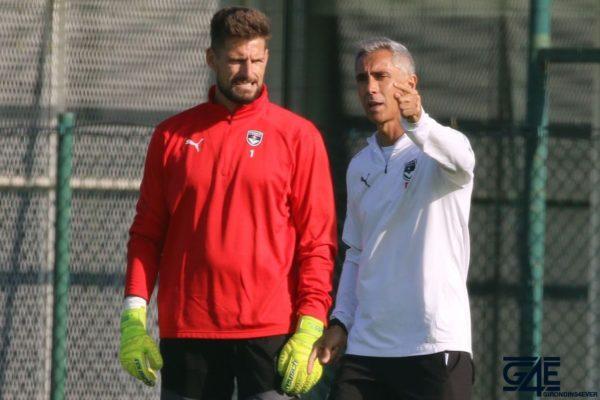 Paulo Sousa et Benoit Costil