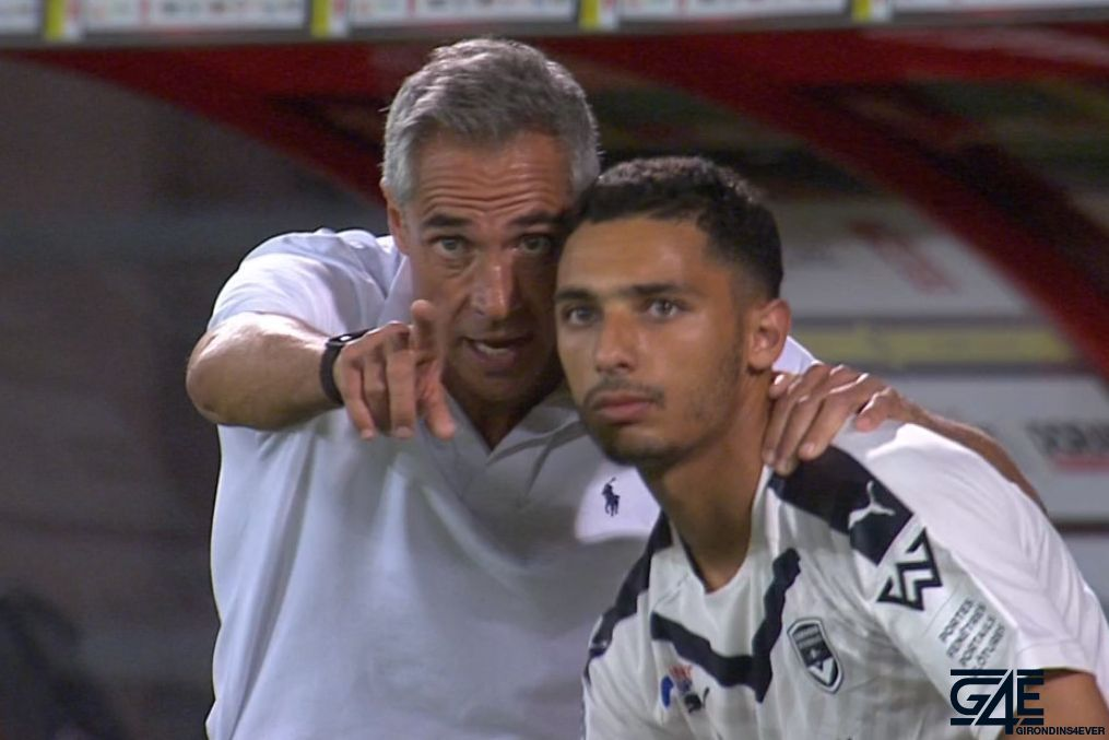 Paulo Sousa et Yassine Benrahou