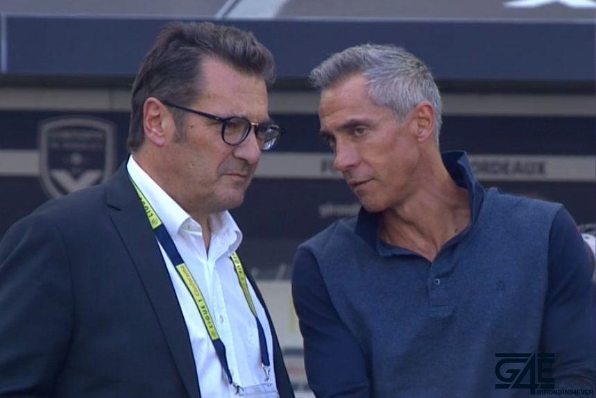 Paulo Sousa et Didier Quillot